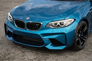 front end of the 2016 BMW M2