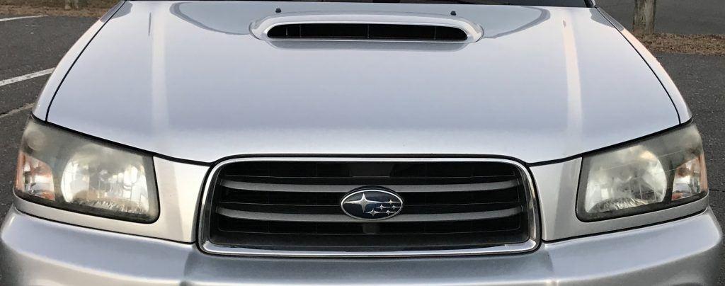 2003 Subaru Forester Hood Scoop - Fastest Subarus