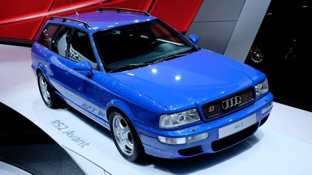 Photo of a 1994 Audi RS2