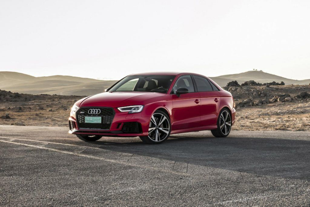 Fastest Audis: Photo of a 2017 Audi RS3