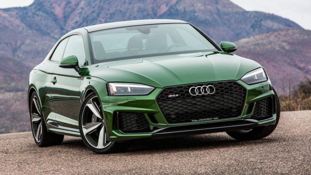 Fastest Audis: Photo of a 2018 Audi RS5
