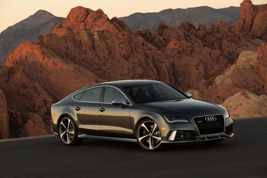 Fastest Audis: Photo of a 2014 Audi RS7