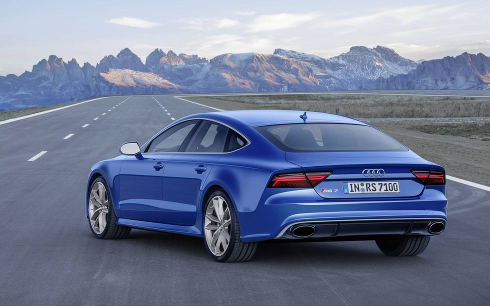 Fastest Audis: Photo of a 2016 RS7 Performance