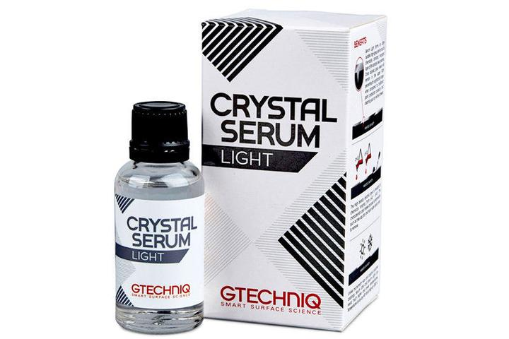 Picture of a bottle of GTECHNIQ Crystal Serum Light