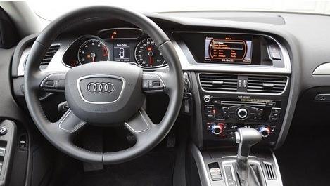 2013 Audi allroad interior