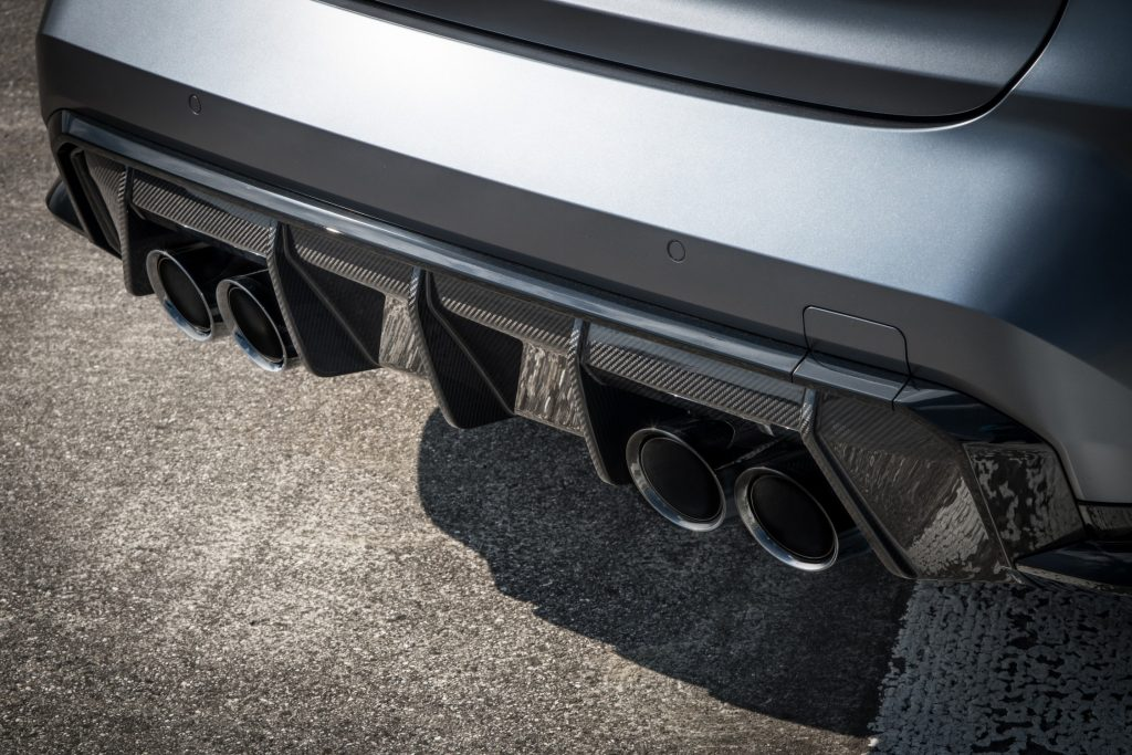 Picture of BMW M3 Exhaust Tips